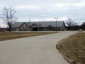 Land Engineers LLC provided site development services for Living Hope Church - Bartonville, Illinois, including a site plan to meet storm water requirements.
