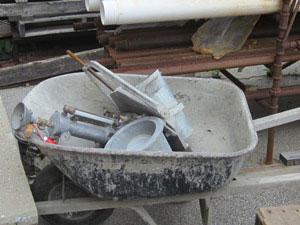 LE Construction Phase Services air testing concrete