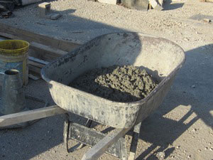 LE Construction Phase Services field testing concrete