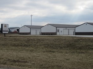 LE Engineering Fox Farms Storage Units completed facility
