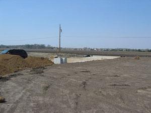 LE Engineering Fox Farms Storage Units construction