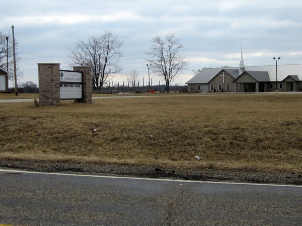 LE Engineering Living Hope Community Church in Bartonville, Illinois - street view